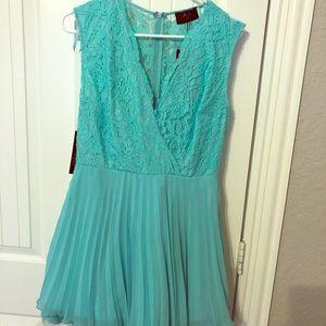 Mini Dress Teal